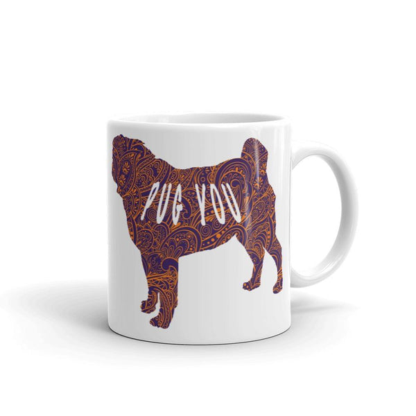 Paisley'd Pug ~ Mug-Home-Pug You