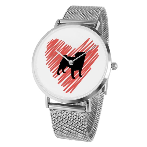 Pug at heart ~ Watch Accessories PUGYOU