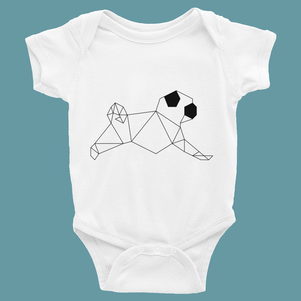 Pug Graphic Art ~ Infant Bodysuit 6-24M Clothes PUGYOU
