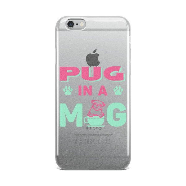 Pug in a mug ~ iPhone Case-Accessories-Pug You