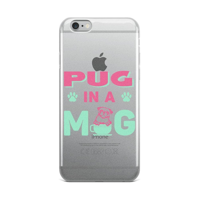 Pug in a mug ~ iPhone Case Accessories PUGYOU