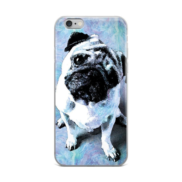 Pug's Blues ~ iPhone Case-Accessories-Pug You