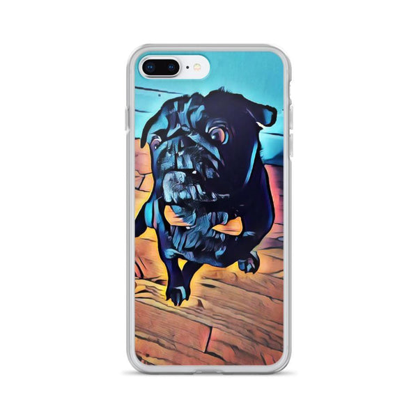 Pugs cubism ~ iPhone Case-Accessories-Pug You