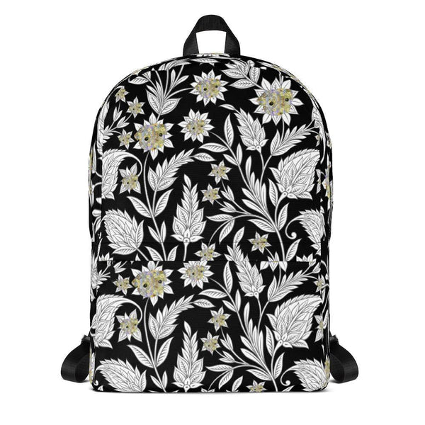 Pug's Flower Power ~ Backpack-Accessories-Pug You