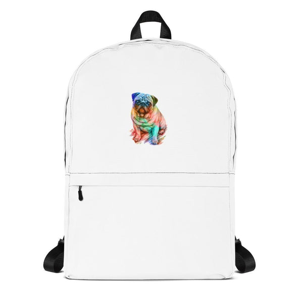 Rainbow puggy ~ Backpack-Accessories-Pug You