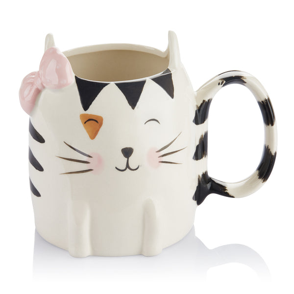 DOWAN® 16 oz Kitty Tea Mugs