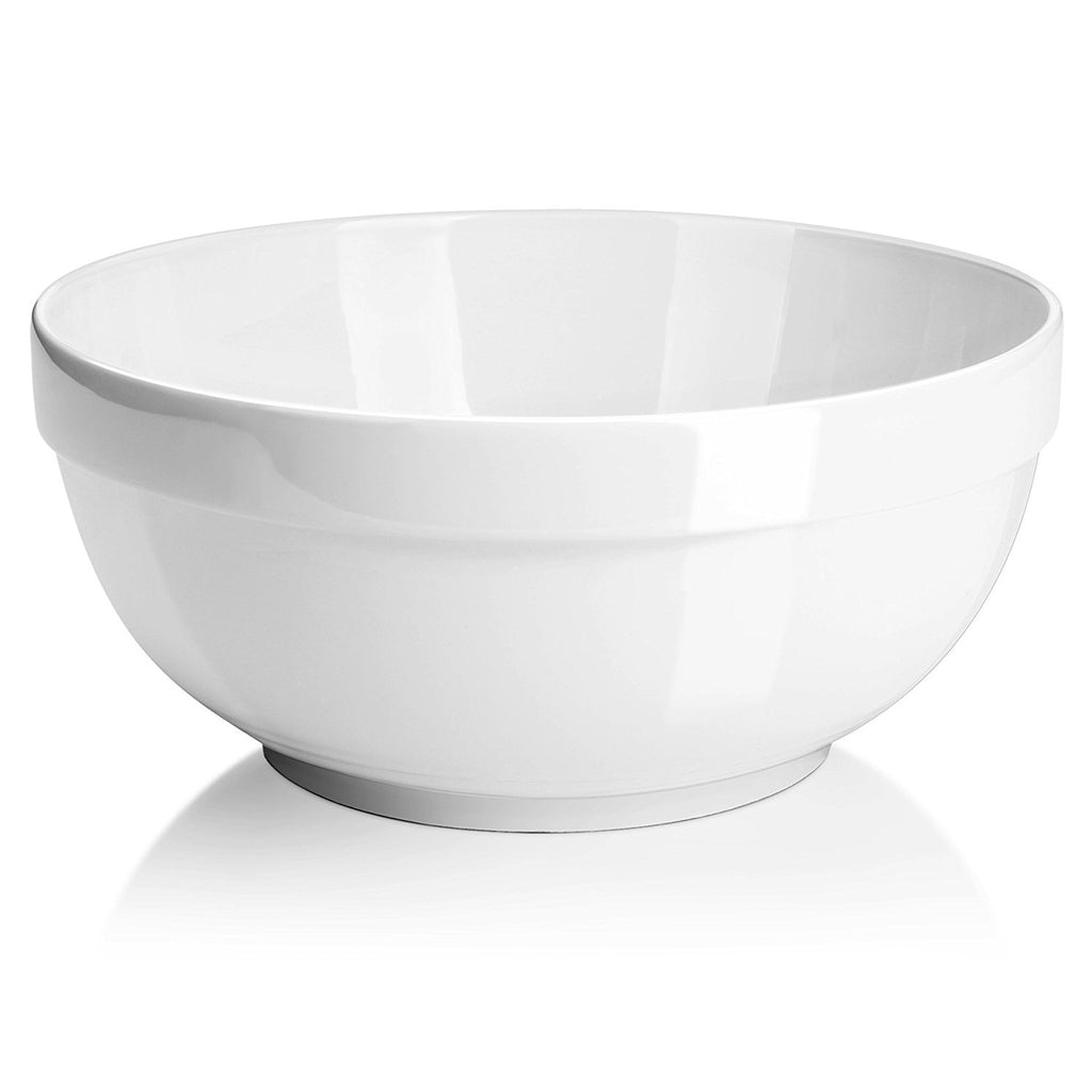 Capacity 5 Quart set Of 2 Embosed Wide Rim Dish