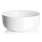 DOWAN® 4-Pack Porcelain Serving Bowls, 1-1/2 Quart, White
