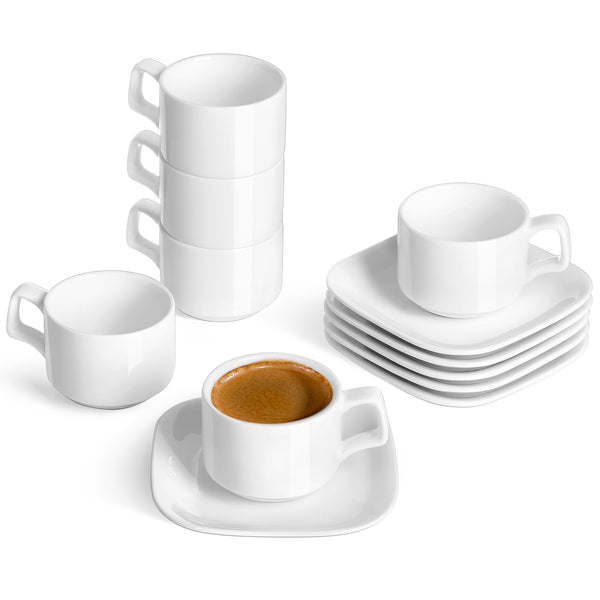 4.5-inch wide coffee saucers
