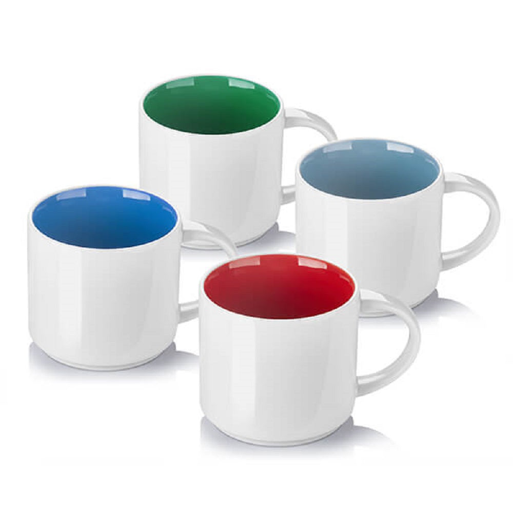 DOWAN® Coffee Mugs, Porcelain Tea and Coffee Mug Set