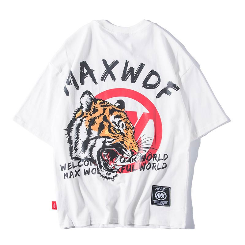 MAXWDF Tiger T-shirt