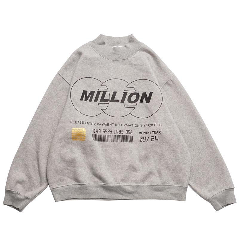 Million Long Sleeve Sweatshirt
