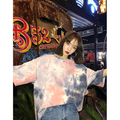 Tie-Dyed Oversize T-shirt