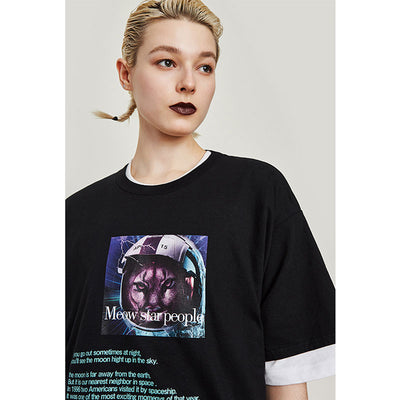 Meow Star People Tee