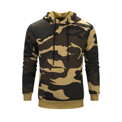 Military - Style Camouflage Men's Hoodies