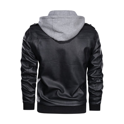 Men's Casual Leather jacket