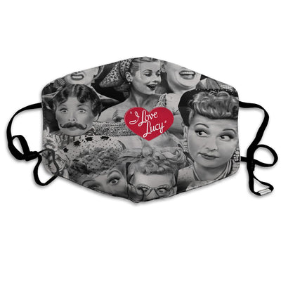 LOVE LUCY Mask