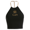 Cure Embroidered Tank Top
