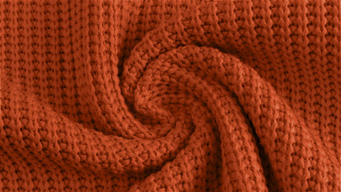 Pumpkin Spice Cable Knit
