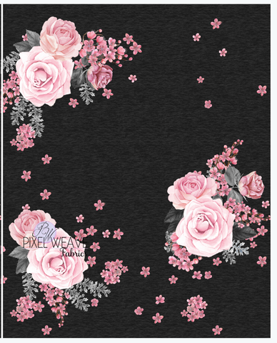 Blank Sassy Floral Panel
