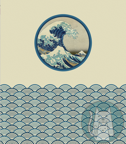 ***The Great Wave Panel