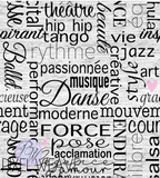 Danse Words (French)