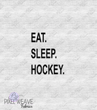 Eat Sleep Hockey Panel