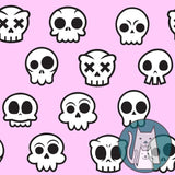 ***Skull Kitty Pink Coordinate