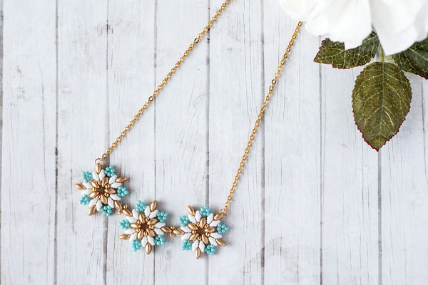 Molly Lagoon Blue Necklace