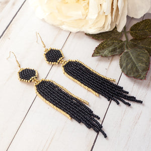 Raina - Black + Gold