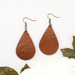 Tara - Embossed Brown