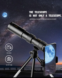 High Power Monocular Telescope, Capture The Stars With Your Smartphone