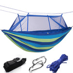 Canvas Striped Hammock