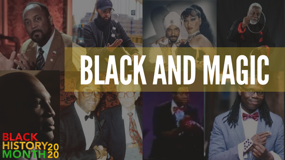 The 8 Most Influential Magicians Of The Decade...And They're Black!