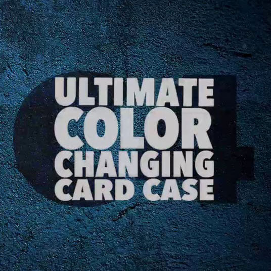 C4: Color Changing Card Case