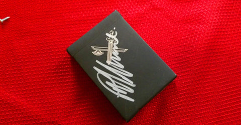 Ellusionist Black Kings Playing Cards SIGNED By Peter McKinnon