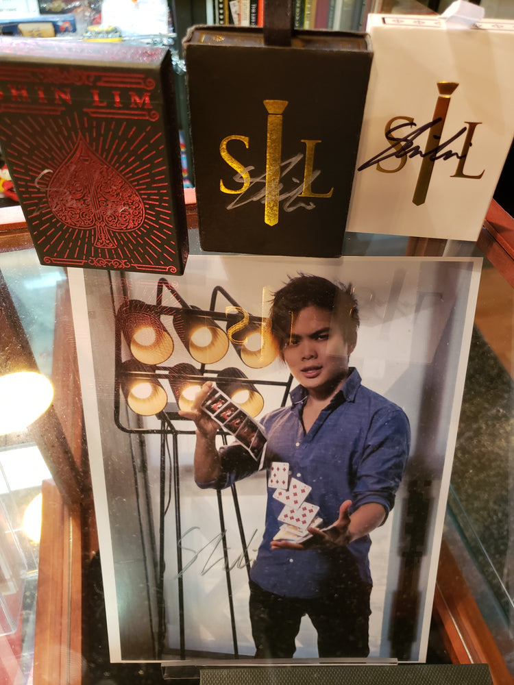 Shin Lim Champion Playing Card Bundle
