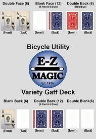 Bicycle Utility Gaff Deck for Blue/Red