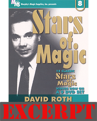 They Both Go Across video DOWNLOAD (Excerpt of Stars Of Magic #8 (David Roth))