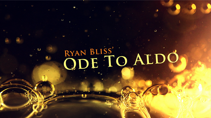 Ode To Aldo by Ryan Bliss video DOWNLOAD