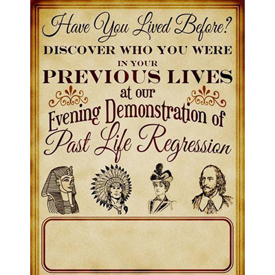 Past Life Regression for the Magician & Mentalist by Jonathan Royle - eBook DOWNLOAD