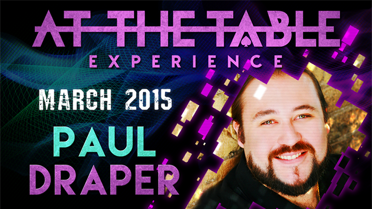 At the Table Live Lecture - Paul Draper 3/11/2015 - video DOWNLOAD