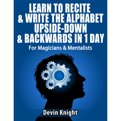 Alphabet In Reverse by Devin Knight - eBook DOWNLOAD
