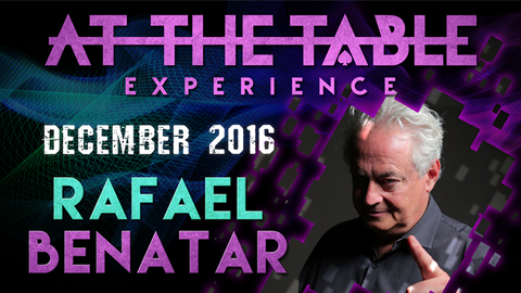 At The Table Live Lecture Rafael Benatar December 7th 2016 video DOWNLOAD