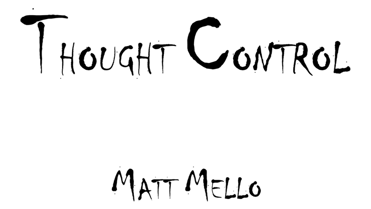 Thought Control by Matt Mello eBook DOWNLOAD