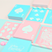 Pure Cardistry (Pink)- Cards