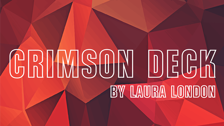 Crimson Deck By Laura London/ Other Brothers (Gimmicks and Online Instructions)