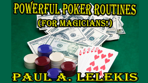 POWERFUL POKER ROUTINES by Paul A. Lelekis Mixed Media DOWNLOAD
