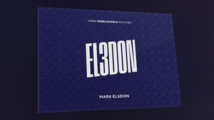 El3don (Gimmicks and Online Instructions) by Mark Elsdon PRE-ORDER