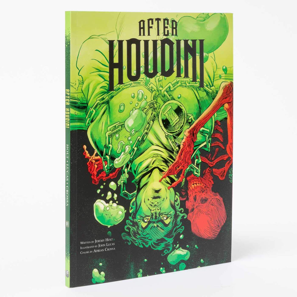 After Houdini by Jeremy Holt